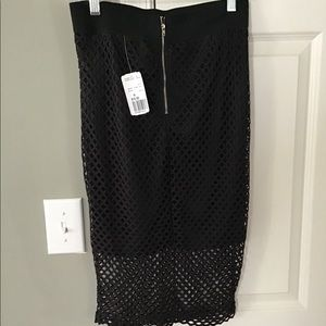 Dresses & Skirts - Knee length mesh skirt